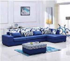 地中海风格布艺沙发