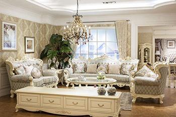 教你欧式布艺沙发搭配 打造优雅的客厅