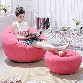 懒人沙发 突破传统的造型轻巧的身形